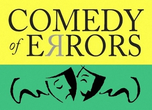 comedy of errors postcard