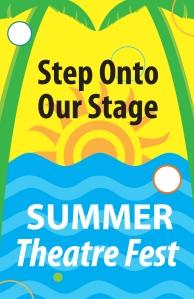 2015 Summer Theatre Fest Logo