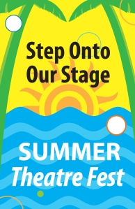 2015 Summer Theatre Fest Logo