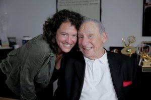 Ferne Pearlstein & Mel Brooks in The Last Laugh