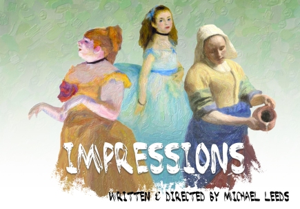 Impressions Logo - Written&Directed by s